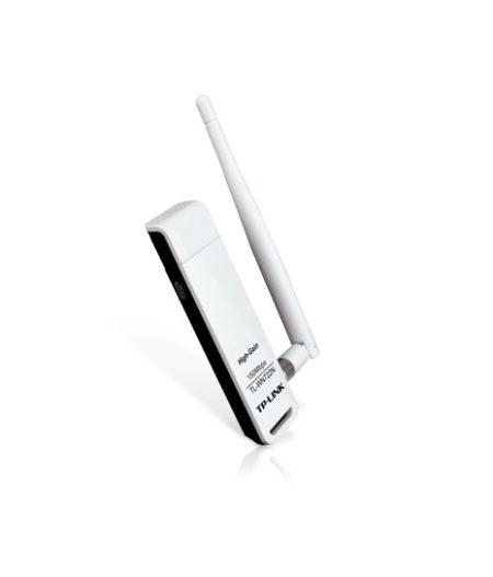 کارت شبکه وایرلس USB تی پی لینک Tp-Link TL-WN722N N150 از دیگر محصولات تی پی لینک است و به علت طراحی مناسب ، قیمت عالی و تامین نیازهای کاربران در سطح
