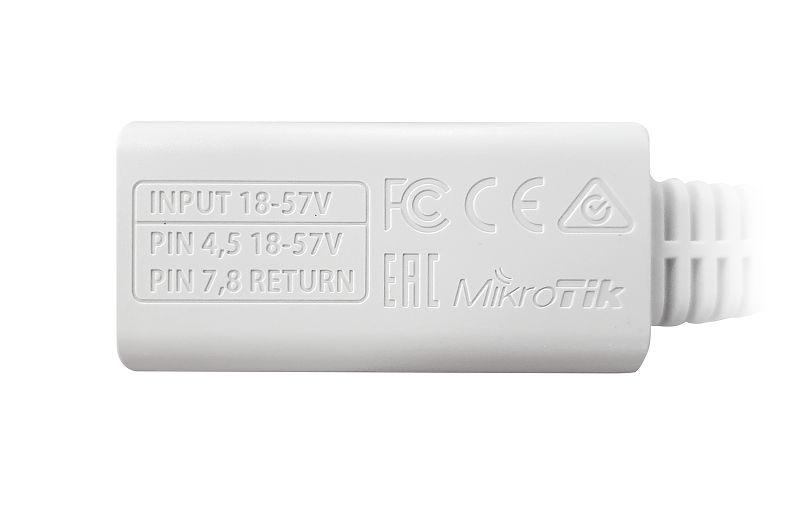 مشخصات POE گیگ میکروتیک Mikrotik RBGPOE