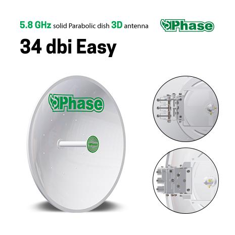 آنتن دیش فاز Phase 34 dBi Easy تصویر 2